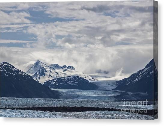 Knik Glacier Alaska Canvas Print