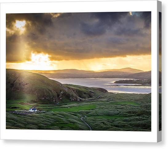 Knockamany Bends Canvas Print by Kevin Moore