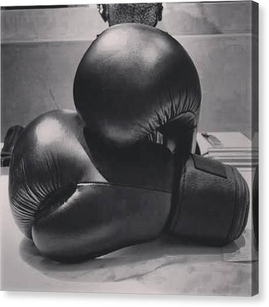 Knockout Canvas Print - #knockout by Brasileira Beleza