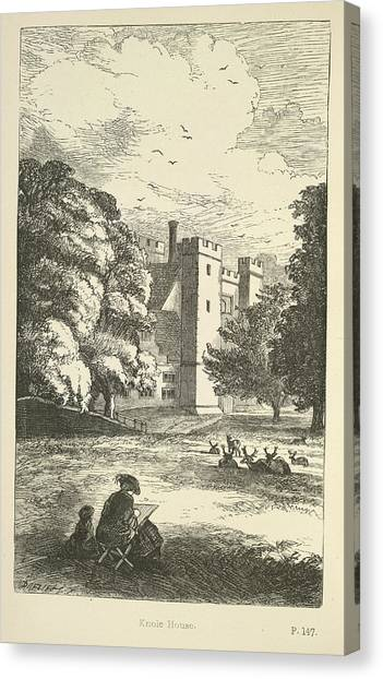 E.t Canvas Print - Knole House by British Library