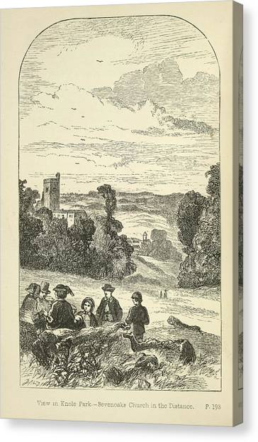 E.t Canvas Print - Knole Park by British Library