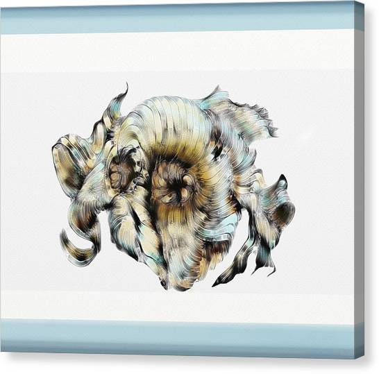 Knotted Thoughts Canvas Print