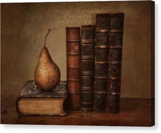 Binders Canvas Print - Knowledge by Robin-Lee Vieira