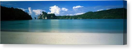 Phi Phi Island Canvas Print - Ko Phi Phi Islands Phuket Thailand by Panoramic Images