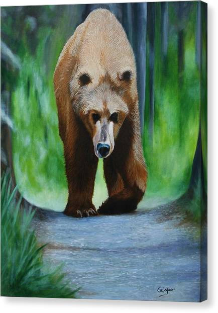 Kodiak Canvas Print