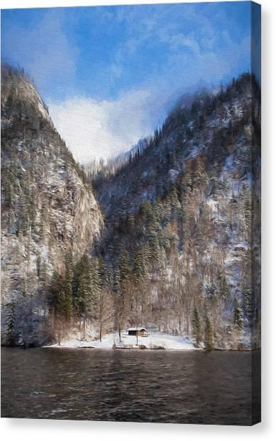 Koenigsee Canvas Print