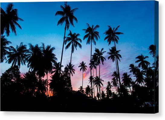 Koh Samui Sunrise Canvas Print
