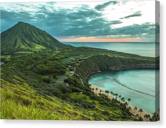 Koko Head Crater And Hanauma Bay 1 Canvas Print