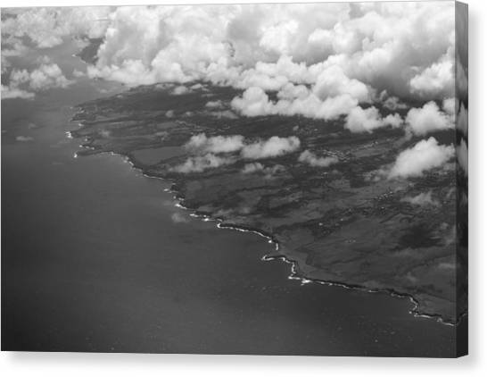 Kona And Clouds Canvas Print