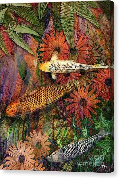 Tropical Fish Canvas Print - Kona Kurry by Christopher Beikmann