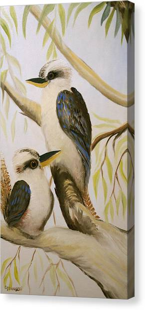 Kooka Duo Canvas Print