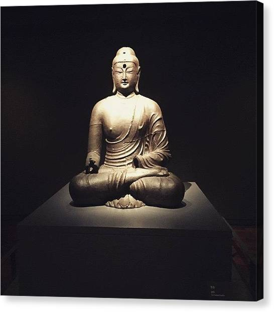 Korean Canvas Print - Korea Buddah by Gernot Hinteregger
