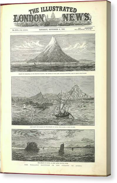 Krakatoa Canvas Print - Krakatoa by British Library