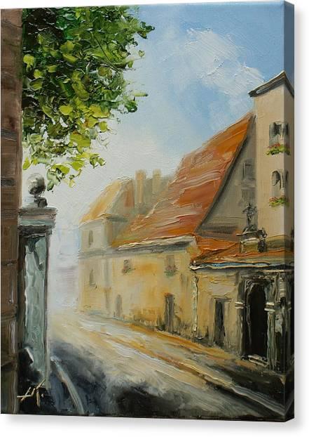Krakow- Reformacka Street Canvas Print