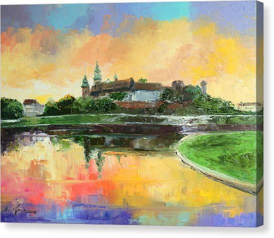 Krakow - Wawel Castle Canvas Print