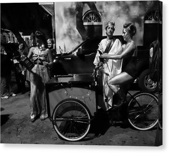Krewe Du Vieux Parade New Orleans Canvas Print
