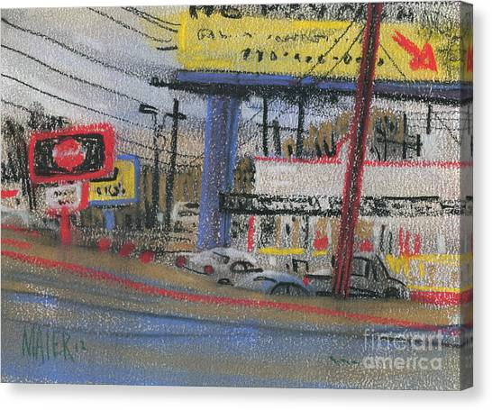 Fast Food Canvas Print - Krystal by Donald Maier