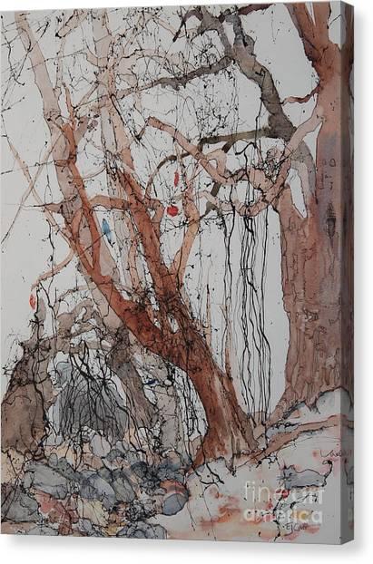 Kudzu Winter Canvas Print