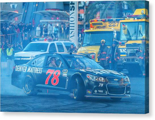 Kurt Busch Canvas Print - Kurt Busch by James Marvin Phelps