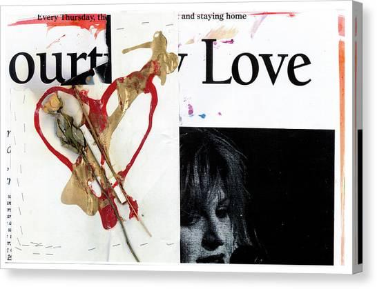 Kurt Cobain Memorial Canvas Print