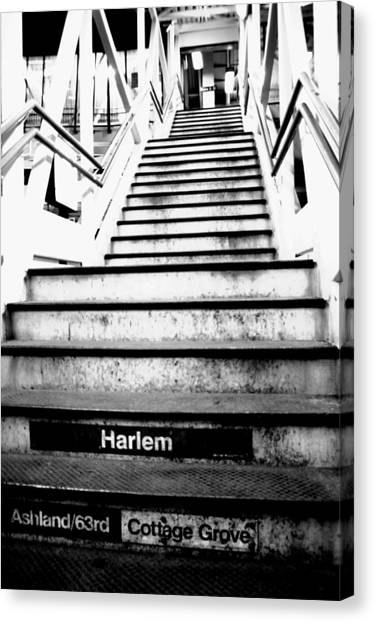 L Train Canvas Print