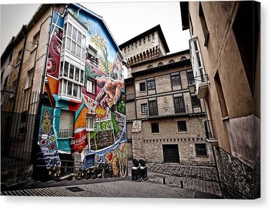 La Ciudad Pintada Canvas Print