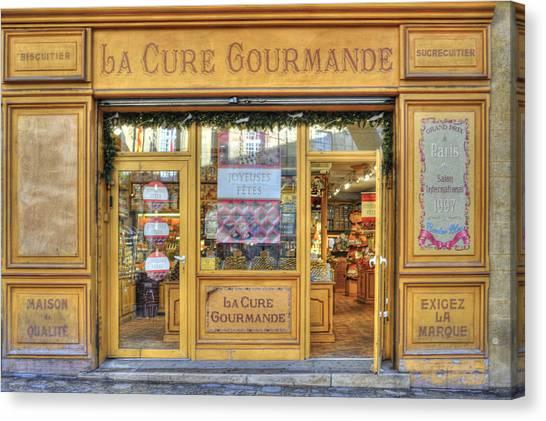 La Cure Gourmande Canvas Print