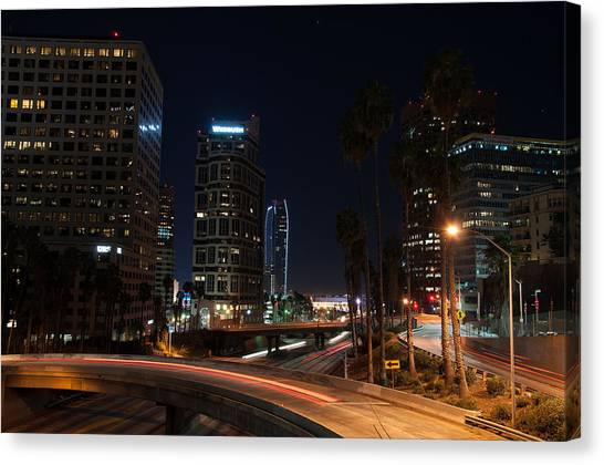 La Down Town 2 Canvas Print