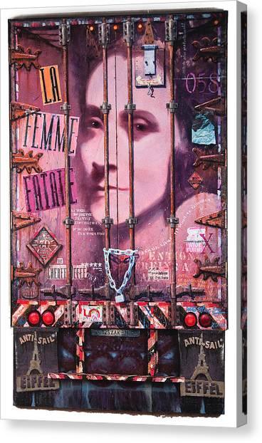 La Femme Fatale Canvas Print