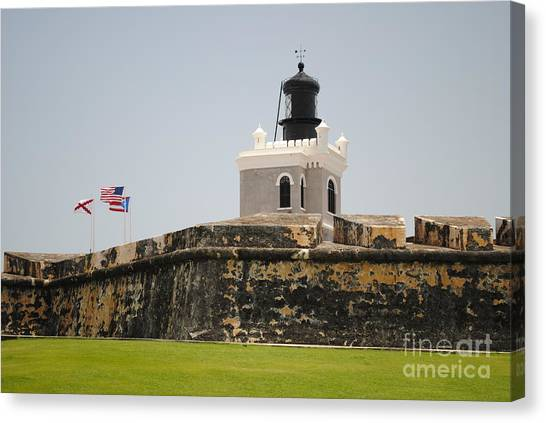 La Fortaleza Light Tower Canvas Print