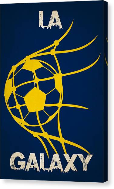 La Galaxy Canvas Print - La Galaxy Goal by Joe Hamilton