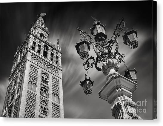 Street Rods Canvas Print - La Giralda by Rod McLean