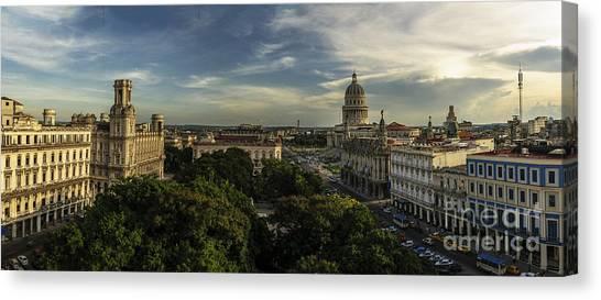 La Habana Cuba Capitolio Canvas Print