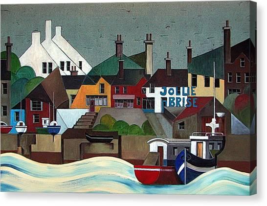 La Jolie Brise  Baltimore Cork Canvas Print