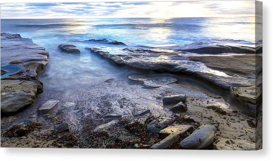 La Jolla Blue Water Canvas Print