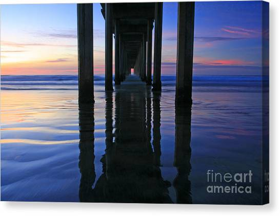 La Jolla Dream Light Canvas Print