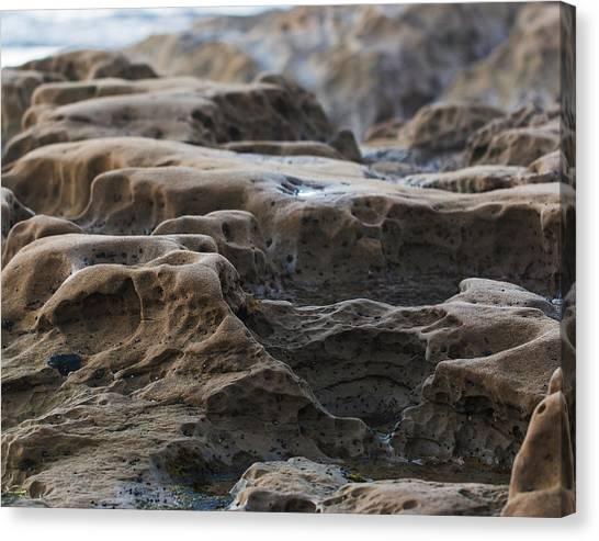 La Jolla Sandstone Canvas Print