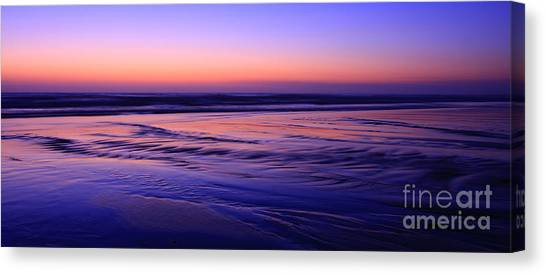 La Jolla Shores Twilight Canvas Print