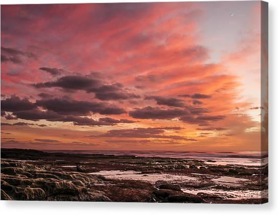 La Jolla Sunset 1 Canvas Print
