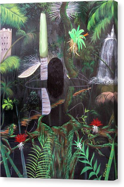 La Madre Del Bosque Canvas Print