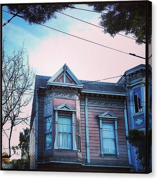 Victorian Canvas Print - La Mission. Sf by Matt Proehl
