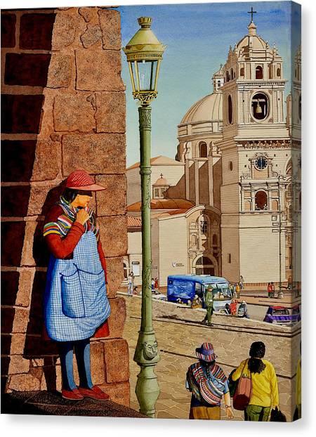 La Mujer Misteria Canvas Print by Andre Salvador