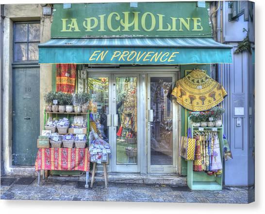 La Picholine Canvas Print