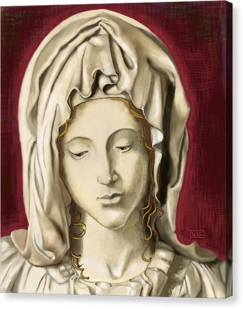 La Pieta 3 Canvas Print