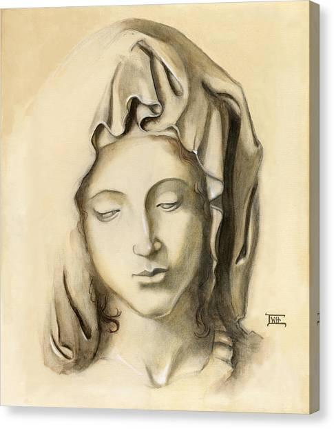 La Pieta-progression 1 Canvas Print