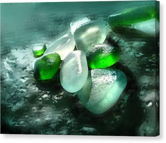 La Playa De Los Cristales  Canvas Print