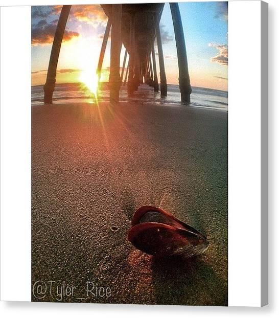 Seashells Canvas Print - La Playa by Tyler Rice