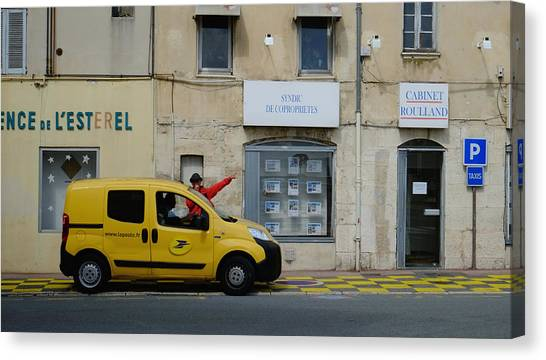La Poste France Canvas Print