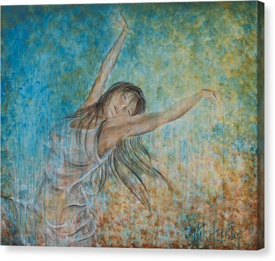 la Primavera Canvas Print by Nik Helbig