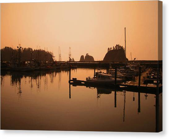 La Push In The Afternoon Canvas Print